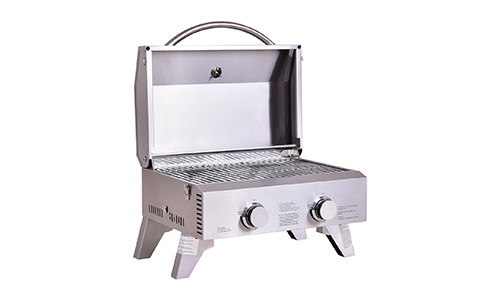 Giantex Propane Gas Grill 2 Burner Stainless Steel BBQ Table Top