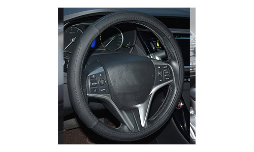 Rupesh Microfiber Leather Car Steering Wheel Cover