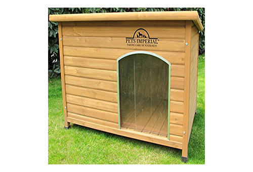 Pets Imperial Extra Large Insulated Norfolk Wooden Dog Kennel
