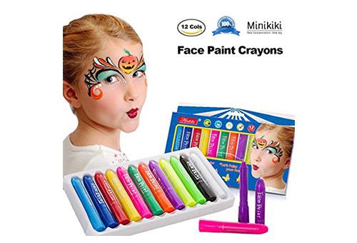 MiniKIKI Face Paint Crayons