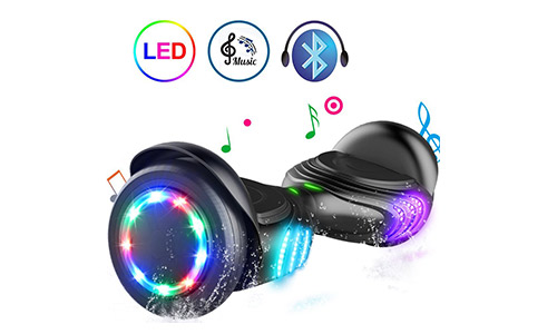 TOMOLOO Hoverboard with Bluetooth