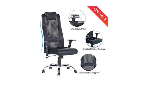 Vanbow High Back Mesh Office Chair