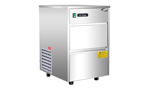 Costway Commercial Portable 58 lb Steel Ice Maker Machine, Automatic