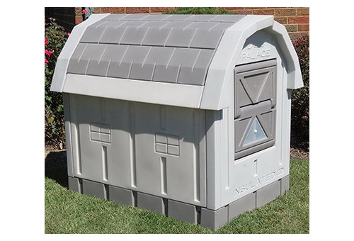 Happybeamy New Outdoor Insulated Dog House Large