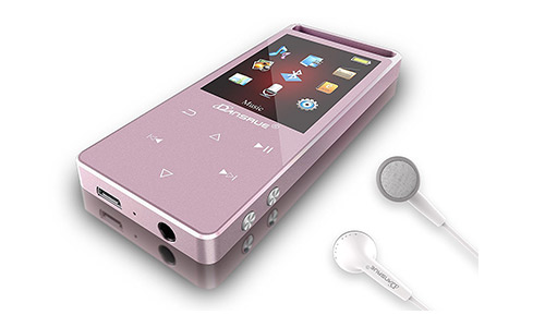 Dansrue MP3 Player with Bluetooth, 8GB Metal Digital Music Audio Player
