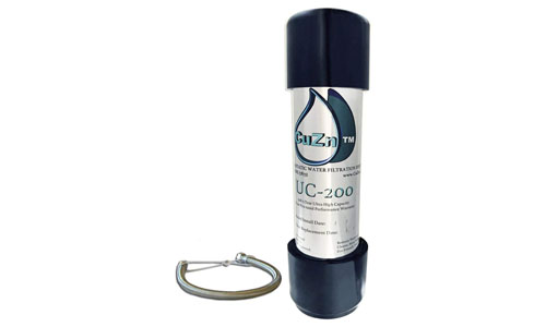 CuZn Water Systems presents Ultra High Capacity UC-200 Under Sink Water Filter