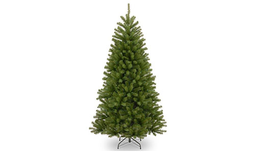National Tree 5-Foot North Valley Spruce Tree, Hinged (NRV7-500-75)