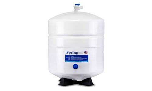 iSpring presents Pre-Pressured 4 Gallon Water Storage Tank T32M