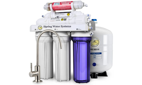 iSpring presents 6 Stage Reverse Osmosis Filtration System RCC7AK