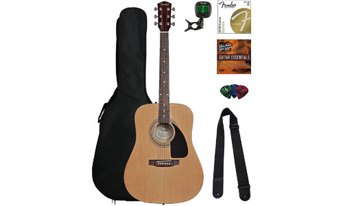 FENDER ACOUSTIC GUITAR W/ GIG BAG
