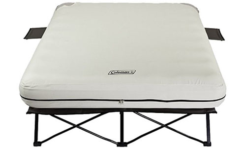 Coleman Queen Airbed Folding Cot Set