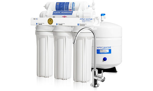 APEC presents Supreme Ultra Safe 5 Stage RO Drinking Water Filter System (ULTIMATE RO-90)