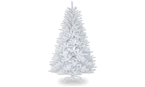 5ft White Traditional Xmas Tree Imperial 390 Tips Artificial Tree Metal Stand