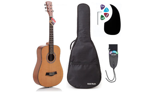 ACOUTIC GUITAR BUNLDE JUNIOR (TRAVEL) SERIES BY HOLA!