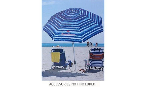 TOMMY BAHAMA'S GROUNDING SAND ANCHOR BEACH UMBRELLAS: