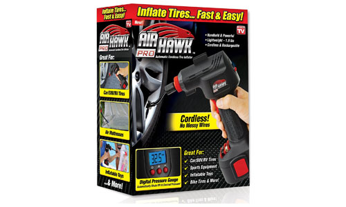 ONTEL Air Hawk Pro Cordless Tire Inflator