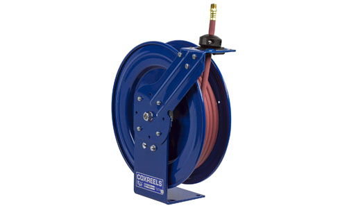 Coxreels P-LP-415 low pressure retractable hose reel