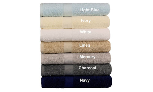 Cotton craft bath towels- seven pack