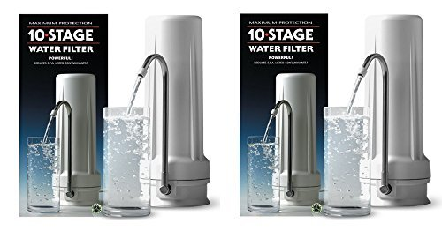 Enviro Water Filter System 10 Stage (Pack of 2) by NEW WAVE