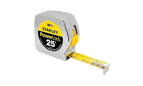 Stanley presents 25 Foot by 1-inch Powerlock Tape Measure 22-425