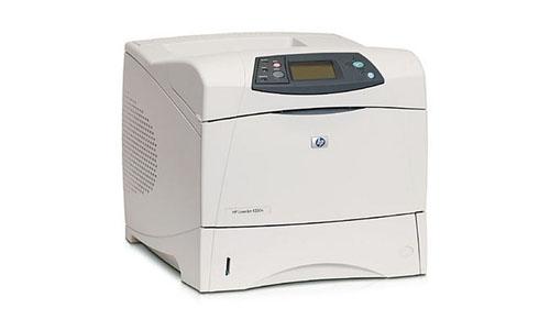 HP 4350 TN Laser Jet Printer Light Gray