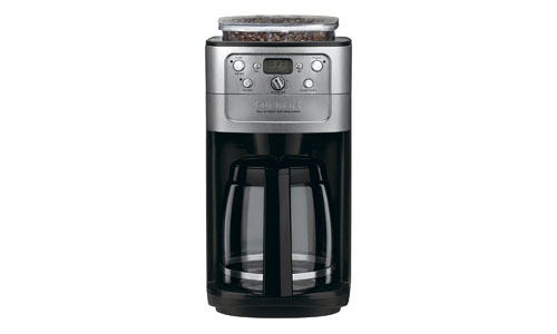 Cuisinart presents Conair 12-Cup Coffeemaker Grinder (Brushed Chrome/Black) DGB-700BC