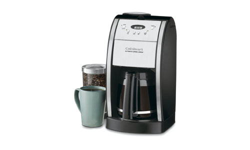 Cuisinart present 12-Cup Programmable Coffee Maker and Grinder (DGB-550BK)