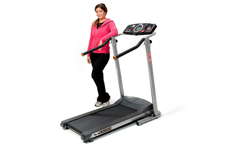 Exerpeutic presents High Capacity 350lbs Walking Fitness Electric Treadmill TF900
