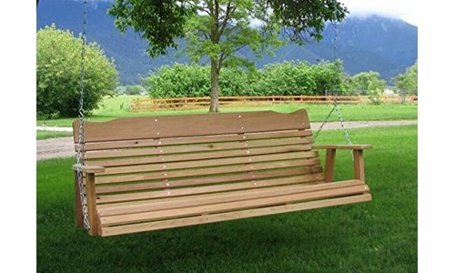 Kilmer Creek Natural Cedar Porch Swing