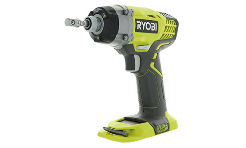 Ryobi One+ P236 18V 1/4 Inch 3,200 RPM 1,600 Inch Pounds Lithium-Ion Cordless Impact Driver (Battery Not Included, Power Tool Only)