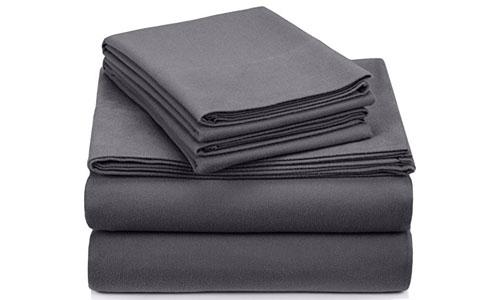 Pinzon Signature Cotton Velvet Flannel Sheet