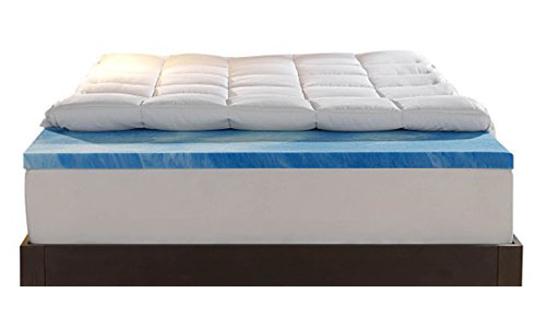 Sleep innovations.-4 inch dual layer
