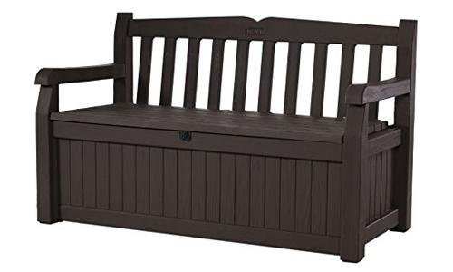 Keter Eden 70 Gallon all weather outdoor patio storage bench