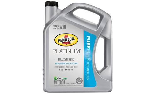 PENNZOIL SYNTHETIC MOTOR OIL WITH NATURAL GAS BENEFITS: