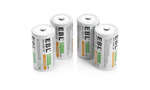 EBL C size battery