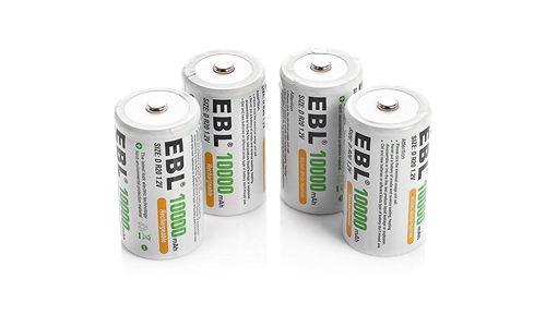 EBL C size battery