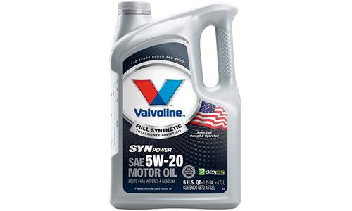 VALENTINE'S TEMPERATURE PROTECTION FULL SYNTHETIC MOTOR OIL: