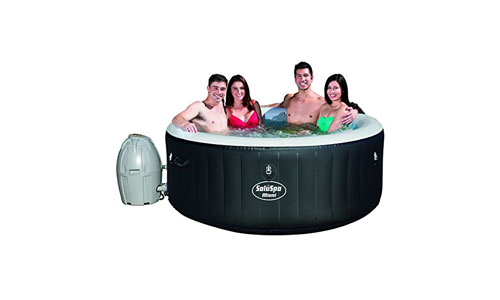 BESTWAY presents Miami SaluSpa Inflatable Hot Tub with 120 Air Jets