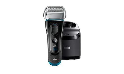 BRAUN presents Series 5 Men's Electric Shaver/ Razor 5190cc with Rechargeable Battery and Charging Station