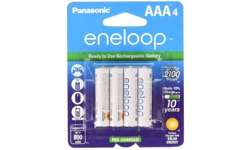 Panasonic BK-4MCCA4BA rechargeable battery- four pack