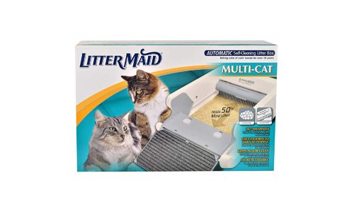 LitterMaid presents Automatic Self-Cleaning Multi-Cat Litter Box