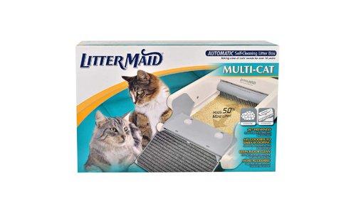 LitterMaid presents Automatic Self-Cleaning Multi-Cat Litter Box