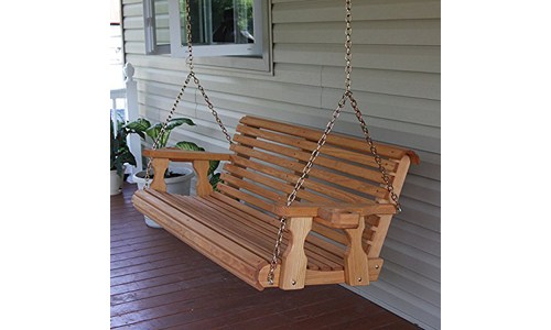 Ecommersify Rolled Seating Porch Swing