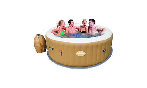 BESTWAY presents Inflatable SaluSpa Palm Springs Portable Hot Tub