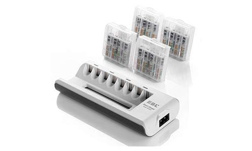 EBL AA AAA battery charger and AAA rechargeable batteries