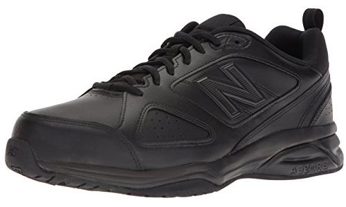 NEW BALANCE MEN'S LEATHER TRAINING SHOES: