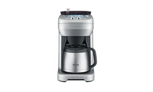 Breville presents Medium Size Grind Control Coffee Maker
