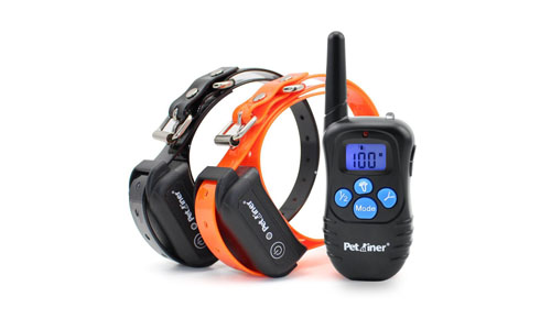 Petrainer Waterproof and Rechargeable Dog Collar
