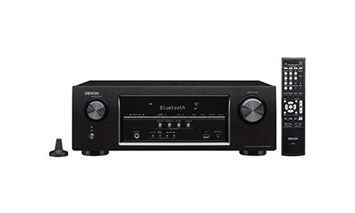 The Denon AVR-S510BT 5.2 Channel Full 4K Ultra HD AV Receiver with Bluetooth