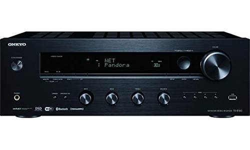 The Onkyo TX-8160 2 Channel Network Stereo Receiver with built-in Airplay, Wi-Fi, and Bluetooth